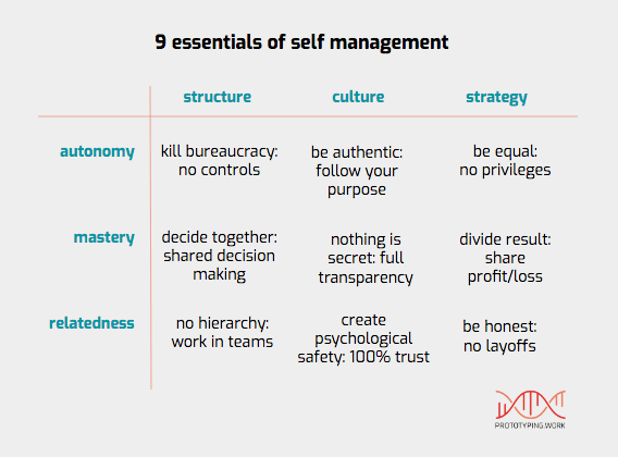 self management - 9 essentials